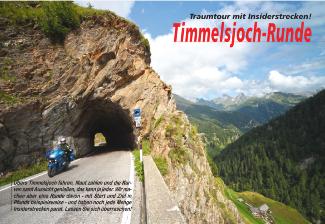 Reportagen online: Timmelsjoch Runde - Traumtour mit Insiderstrecken