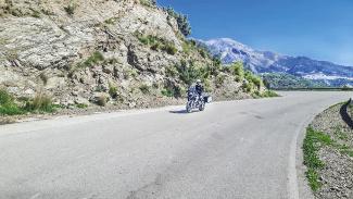 Auf zwei Rädern über die Küsten- und Bergstraßen Andalusiens