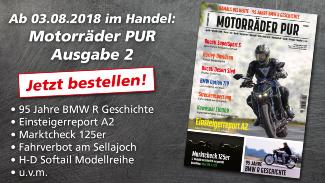 Motorräder PUR #2: Jetzt bestellen!