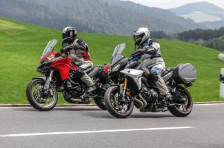 Auf die leichte Tour: Yamaha Tracer 900 GT & Ducati Multistrada 950 im Vergleich