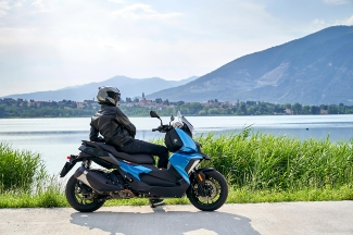BMW Midsize-Scooter C 400 X