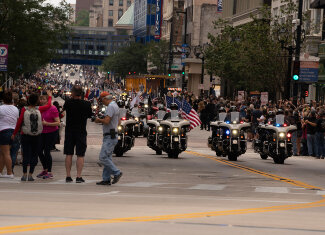 Here's to you, Harley-Davidson: 115 Jahre Party in Milwaukee, USA
