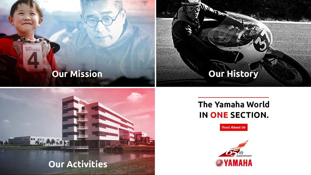 65 Jahre Yamaha Europe Jubiläum