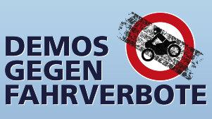 Demonstrationen gegen Motorradfahrverbote – Terminliste 2021