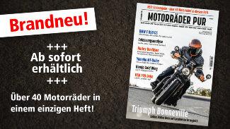 M&R Motorräder PUR #1 ist ab sofort im Handel erhältlich