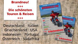 M&R Motorradlust PUR #1 ab sofort im Kiosk erhältlich!