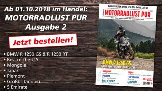 Motorradlust PUR #2 - jetzt bestellen!