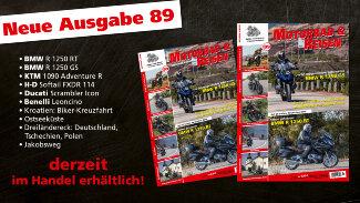 Motorrad & Reisen Ausgabe 89 - derzeit im Handel erhältlich!