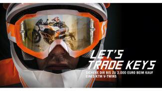 KTM Sonderaktion LET'S TRADE KEYS geht in die zweite Runde