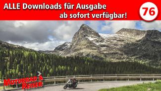 Downloads Motorrad & Reisen Ausgabe 76