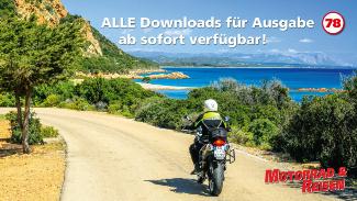Downloads Motorrad & Reisen Ausgabe 78
