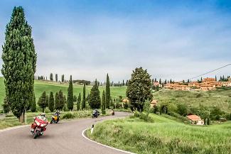 Motorrad Kult-Tour Toskana 2017