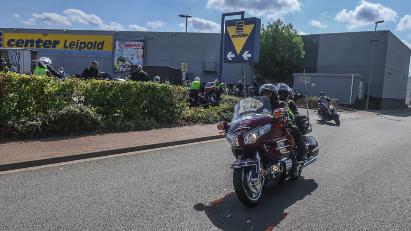Motorradgottesdienst in Lohne
