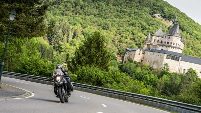 Luxemburg: Motorradfahren im Herzen Europas