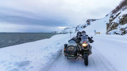 Gespanntour im Winter: Baltikum, Murmansk & Nordkap