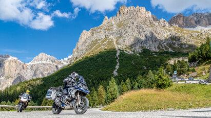 Alpenhighlights: Passkontrolle
