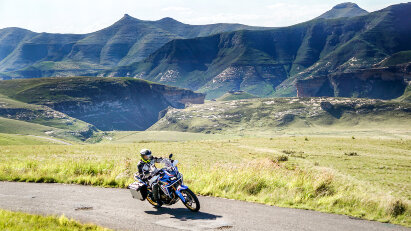 Blick nach Lesotho