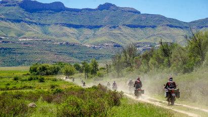 Am Fuß der Drakensberge