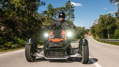 Das ist kein Spyder! Can-Am Ryker Rally Edition im Fahrtest