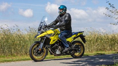 Suzuki V-Strom 1050 XT im Test-Alltag
