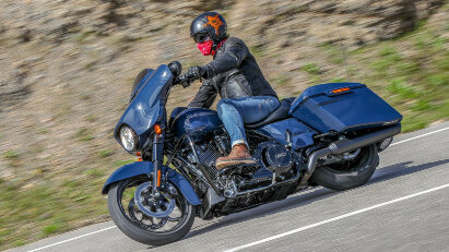 King of the Road: Harley-Davidson Touring-Modelle