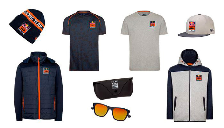 Ready to Race mit der 2019 Red Bull KTM Lifestyle Collection