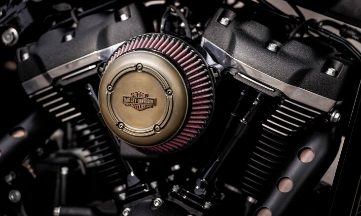 We've got the power: Harley- Davidson Screamin' Eagle Luftfilter
