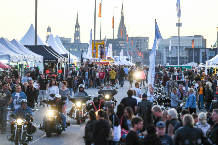 It's still rock 'n' roll to me - Hamburg Harley Days rockten die Hansestadt