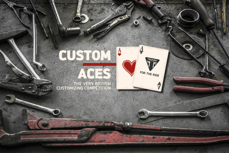 TRIUMPH Custom Aces 2019: Round two, go!