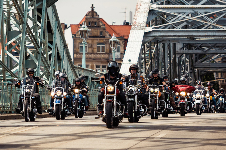 What a feeling - Harley Days in Sachsens Hauptstadt Dresden