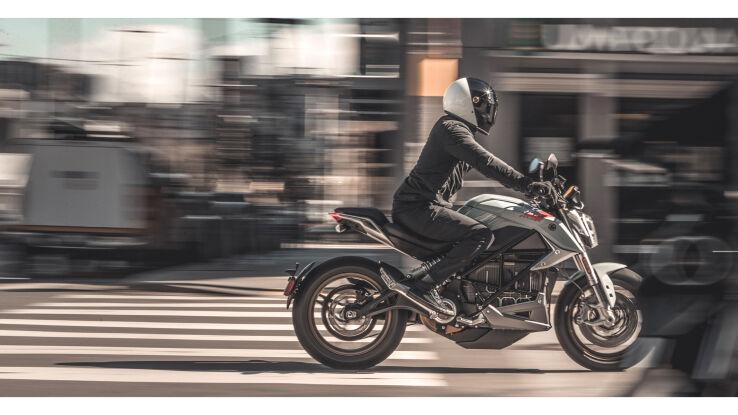 Elektro-Streetfighter: Zero Motorcycles Zero SR/F