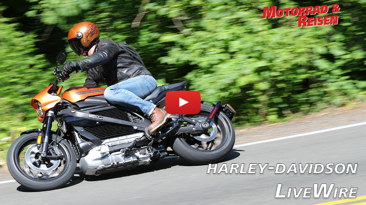Harley-Davidson LiveWire - erste Fahreindrücke
