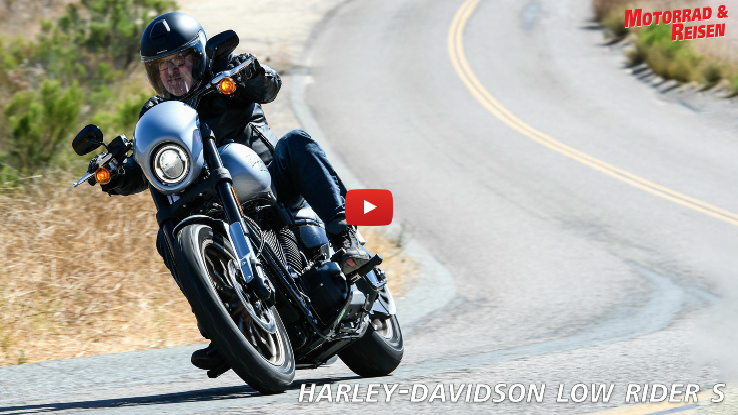 Harley-Davidson Low Rider S - Fahreindrücke