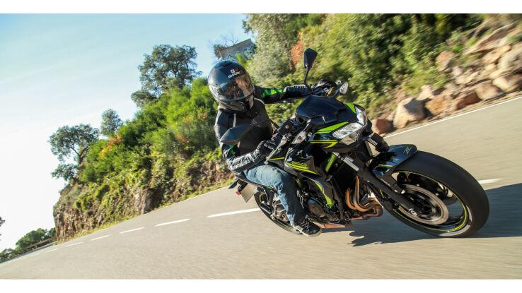 Bereits gefahren: Kawasaki Z650