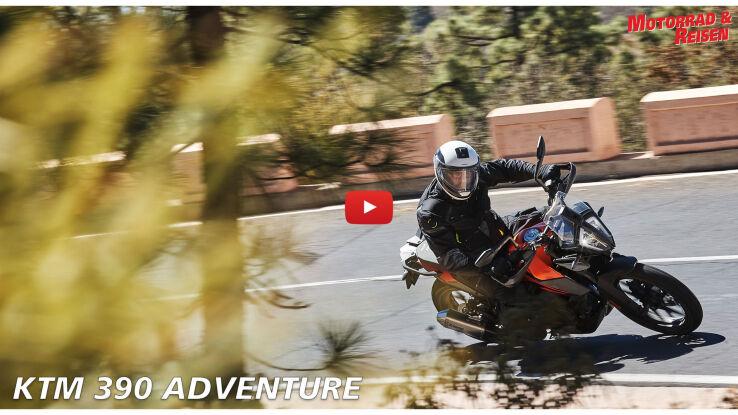 KTM 390 Adventure - erste Fahreindrücke