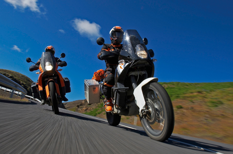 Der Name ist Programm - die KTM 990 Adventure