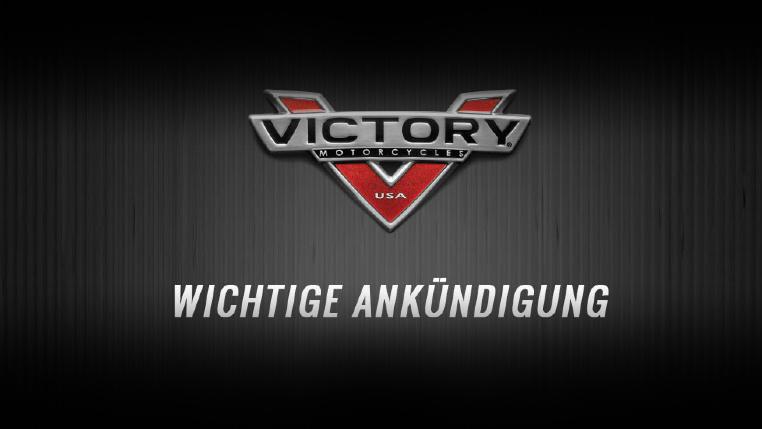 Dunkle Wolken ziehen über die Motorradmarke Victory ©Victory