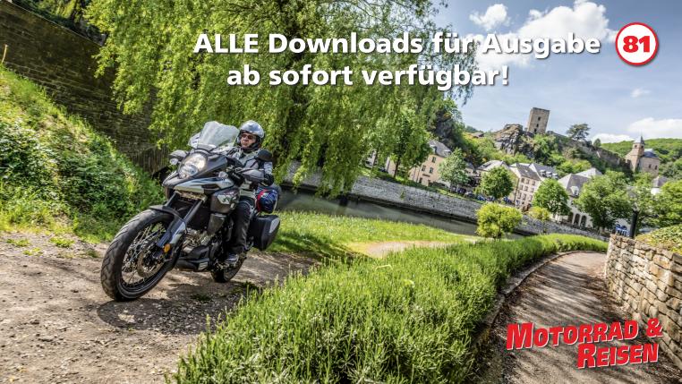 Downloads Motorrad & Reisen Ausgabe 81