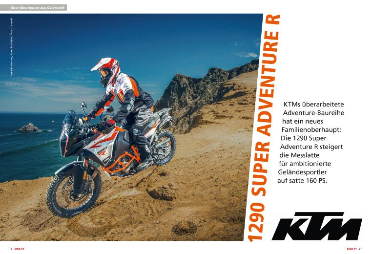 KTM 1290 Super Adventure R Ausgabe 81