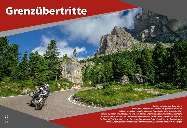Grenzübertritte in den Dolomiten