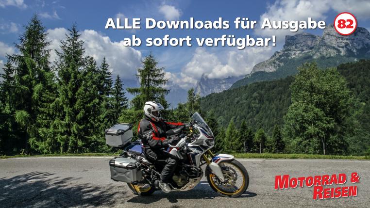 Downloads Motorrad & Reisen Ausgabe 82