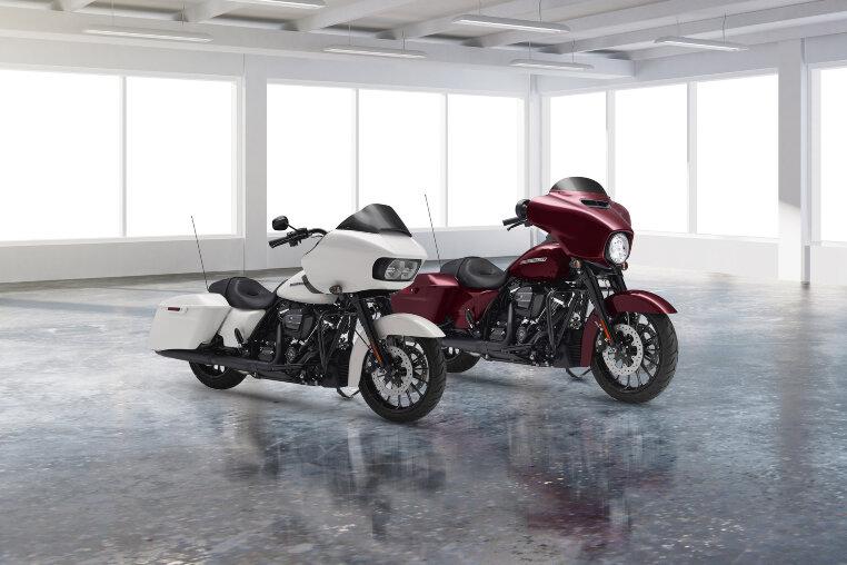 Harley-Davidson präsentiert die Touring Bikes für 2018