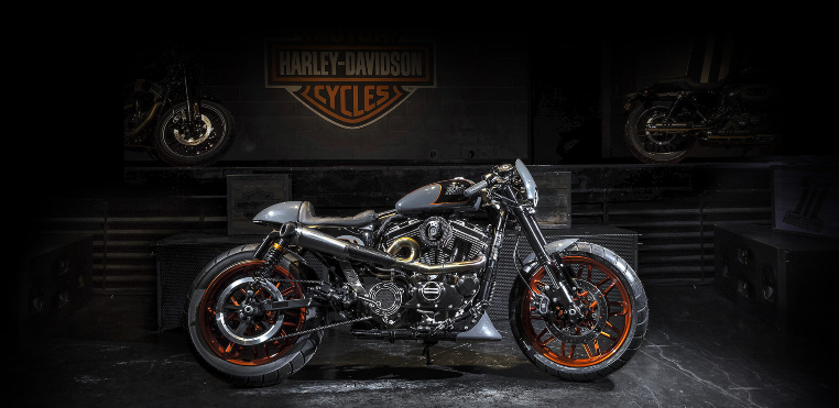 Internationaler Harley-Davidson Custom King