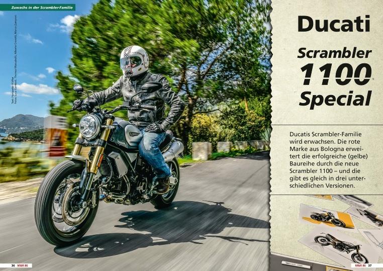 Ducati Scrambler 1100 - Drei auf einen Schlag