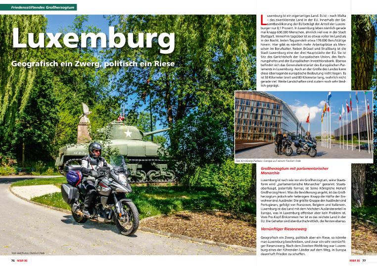 Luxemburg - Historie und Moderne