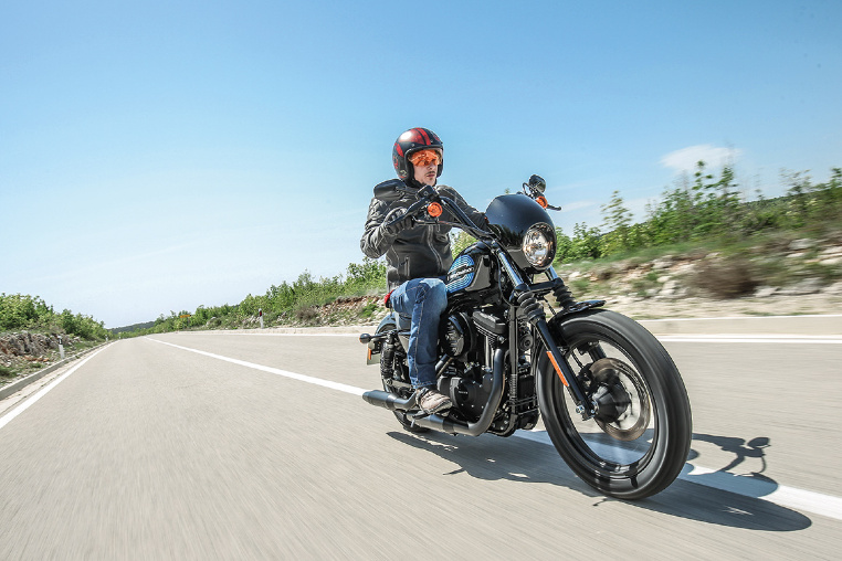 Viel Chrom an der Forty-Eight Special