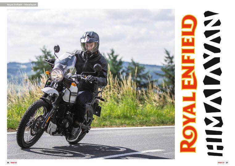 Für die schwierigen Straßenverhältnisse Indiens gemacht, ist die Himalayan ein Motorrad für anspruchsvolle Pisten.