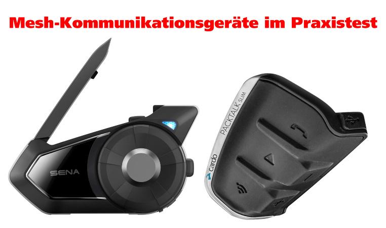 Sena 30K Cardo Packtalk Slim Mesh Kommunikationsgeräte