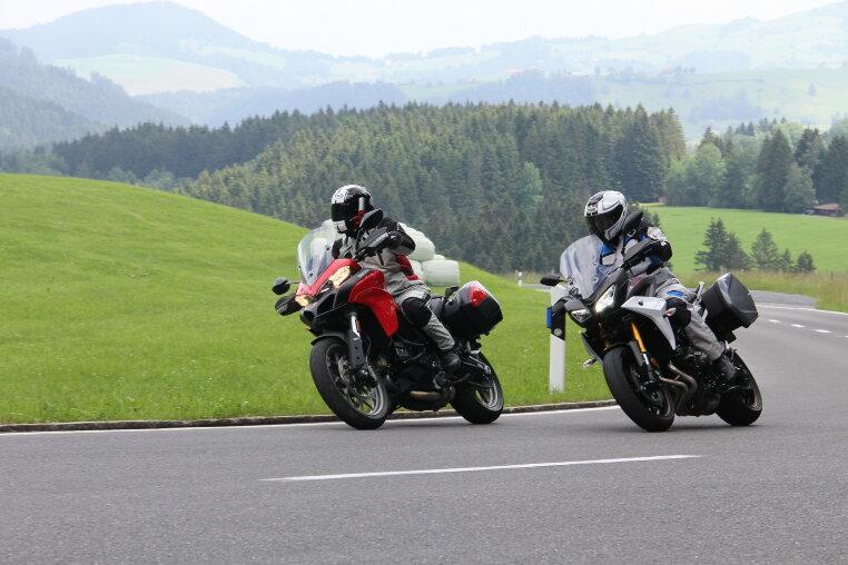 Yamaha Tracer 900 GT und Ducati Multistrada 950