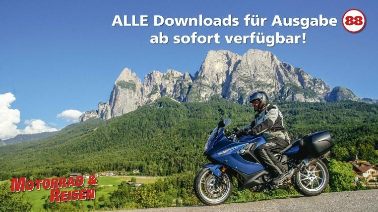 Downloads Motorrad & Reisen Ausgabe 88
